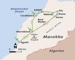 Marokko Rundreise und Baden