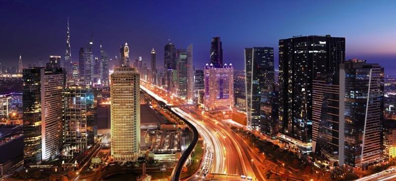 The Fairmont DubaiStadtansicht