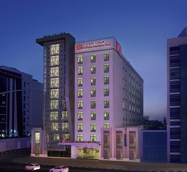 Hilton Garden Inn Dubai Al MuraqabatAuߟenaufnahme
