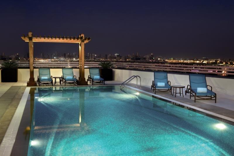 Hilton Garden Inn Dubai Al MuraqabatPool