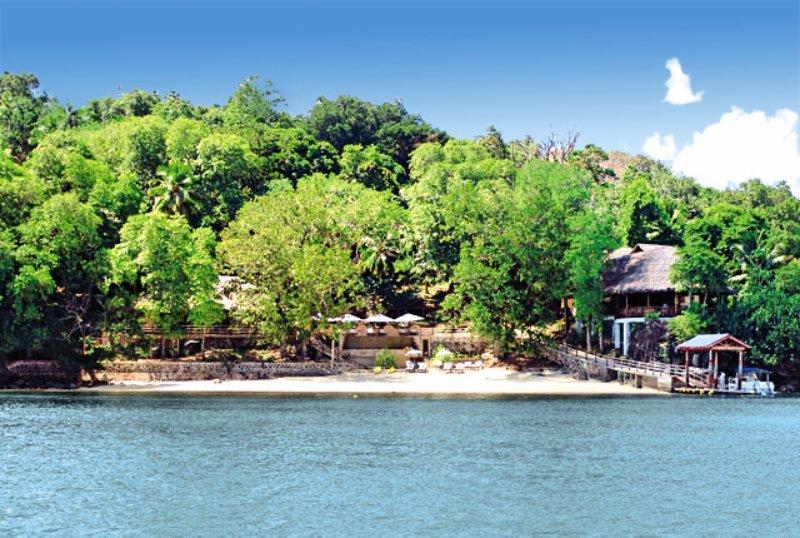 Cerf Island ResortAuߟenaufnahme