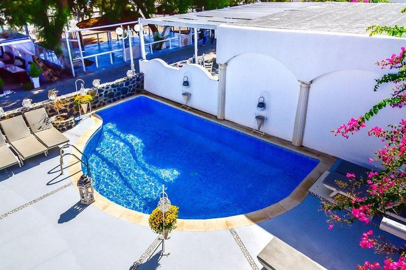 7 Tage in Kamari (Insel Santorin) King Suites