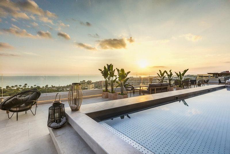 Top-Hotel am Stadtstrand von Palma