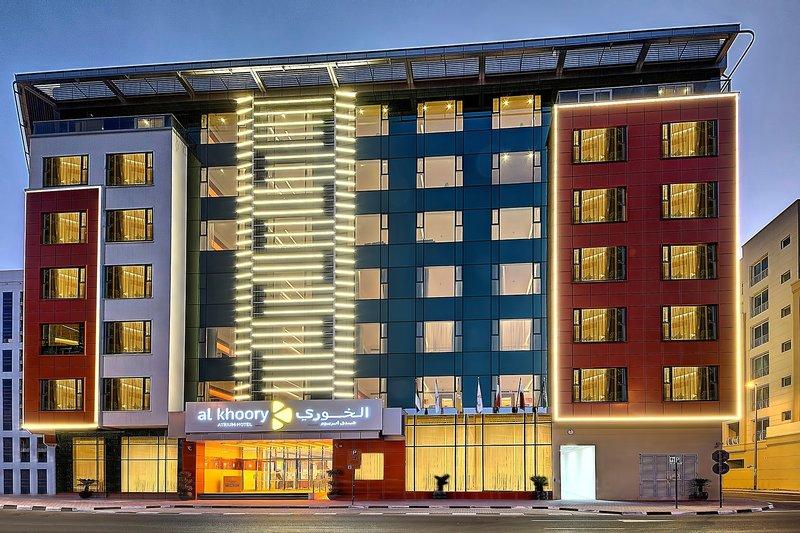 Al Khoory Atrium Hotel in Dubai ab 545 €