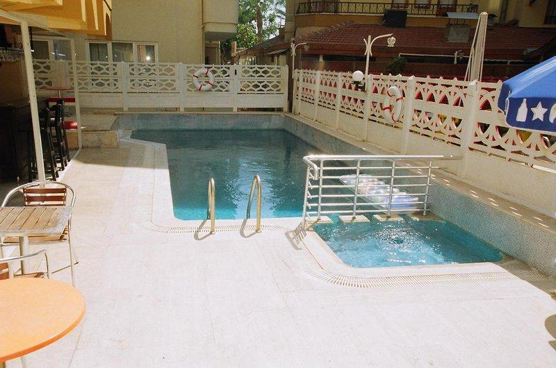 Kleopatra Develi Hotel in Alanya, Türkische Riviera P