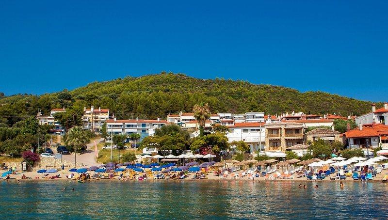 Loutra Beach Hotel in Kassandra, Chalkidiki A