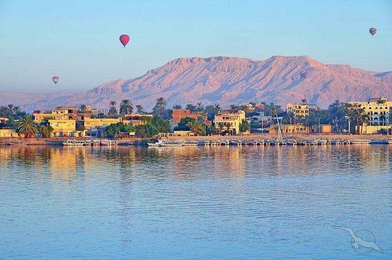 Gezira Garden Hotel in Luxor, Oberägypten