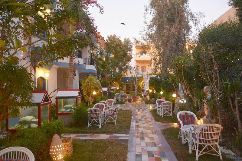 Gezira Garden Hotel in Luxor, Oberägypten TE