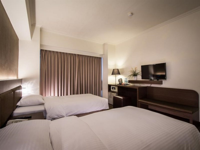 Green World - New World Hotel in Taipeh, Taiwan W
