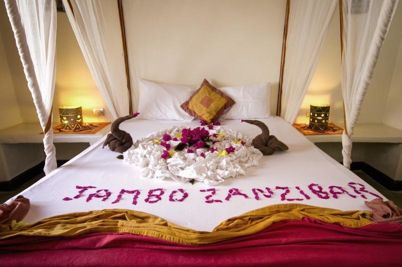 Paradise Beach Resort in Uroa, Tansania - Insel Zanzibar W