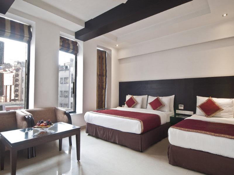 Hotel Krishna in Neu Delhi, Indien - Delhi W