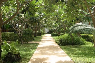 Hotel Banana Fan Sea Resort Garten