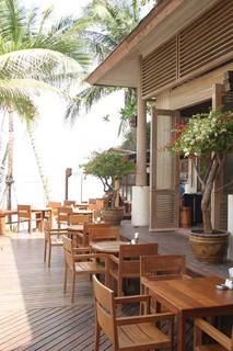 Hotel Banana Fan Sea Resort Terasse