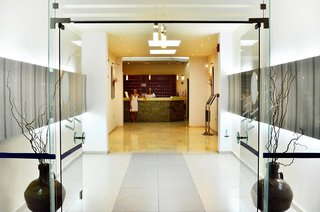 Hotel Marathon Lounge/Empfang
