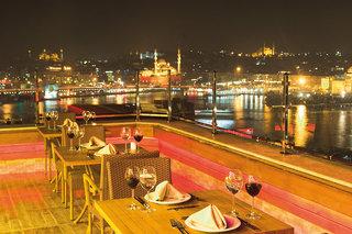 Hotel Golden City Hotel Istanbul Terasse