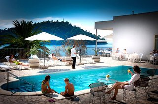 Hotel Aminess Lume Pool