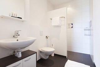 Hotel Amsterdam ID Aparthotel Badezimmer