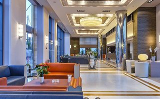 Hotel Porto Platanias Village Resort Lounge/Empfang