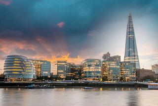 Hotel Novotel London Excel Stadtansicht