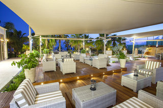 Hotel Aquamare Beach Hotel & Spa Terasse