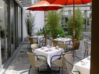 Hotel Flandrischer Hof Terasse