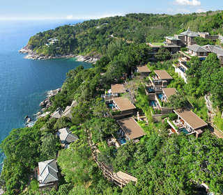 Hotel Paresa Resort Luftaufnahme