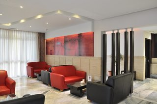 Hotel Dimitris Paritsa Lounge/Empfang