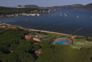 Hotel Corte Rosada Resort & Spa - Erwachsenenhotel Luftaufnahme