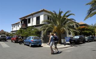 Hotel Las Mozas Außenaufnahme