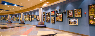 Hotel Disney´s All Star Sports Resort Lounge/Empfang