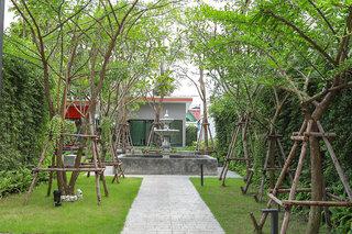 Hotel Golden Sea Pattaya Garten