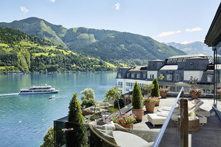 Hotel Grand Hotel Zell am See Terasse