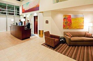 Hotel Holiday Inn Long Island City Manhattan View Lounge/Empfang