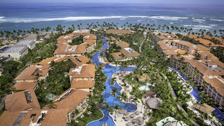 Hotel Majestic Colonial Punta Cana Resort Luftaufnahme