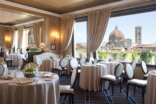 Hotel Grand Hotel Baglioni Florenz Restaurant