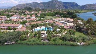 Hotel Dalyan Resort Spa Luftaufnahme