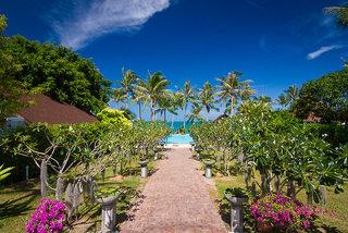 Hotel Coco Palm Beach Resort Samui Garten