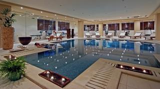 Hotel Wyndham Grand Crete Mirabello Bay Hallenbad