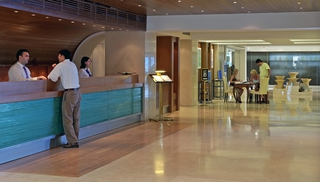 Hotel Wyndham Grand Crete Mirabello Bay Lounge/Empfang