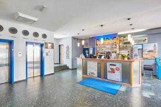 Hotel a&o Hamburg Hammer Kirche Lounge/Empfang