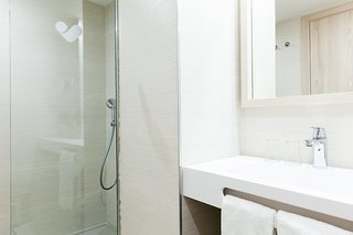 Hotel Hotel Diamant Badezimmer