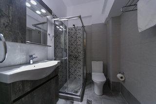 Hotel Erato Hotel Badezimmer