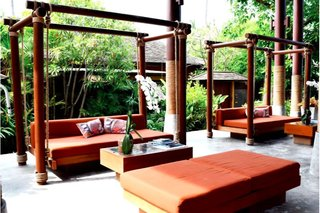 Hotel Deva Beach Resort & Spa Terasse