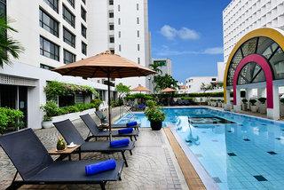 Hotel BelAire Bangkok Außenaufnahme