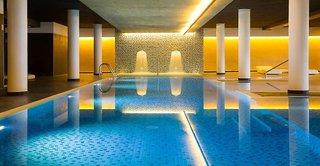 Hotel Aqua Aquamarina & Spa Hallenbad