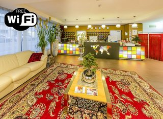 Hotel A&T Holiday Hostel Lounge/Empfang