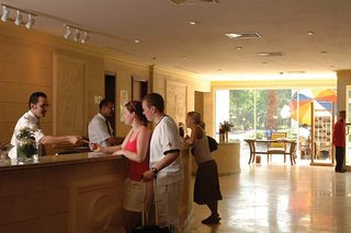 Hotel Jolie Ville Kings Island Luxor Lounge/Empfang
