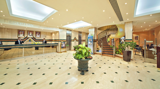 Hotel BM Beach Hotel Lounge/Empfang
