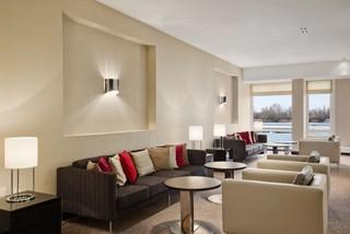 Hotel Hilton Vienna Danube Waterfront Lounge/Empfang