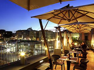 Hotel Mercure Angioino Napoli Centro Terasse
